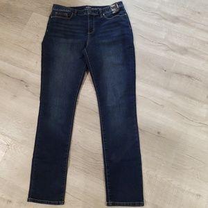 New York & Co high waist skinny jeans 14